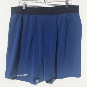 Lululemon Blue Men's Shorts Size XL